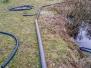 Neuer Wasserzulauf an der Teichanlage
