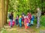 Kindergarten Unter'm Regenbogen Elz zu Besuch 2018